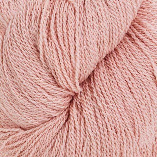 Silkeull 65% merino 35%silke 100g Pudderrosa
