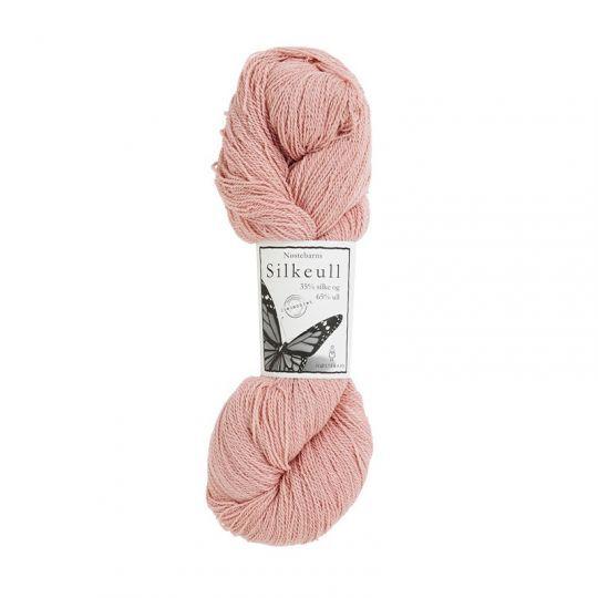 Silkeull 65% merino 35%silke 100g, Pudder