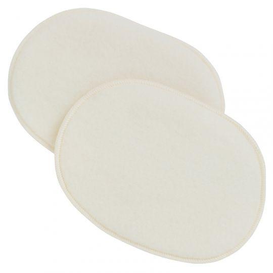 Ovale ammeinnlegg i dobbel ullfleece (19 cm)