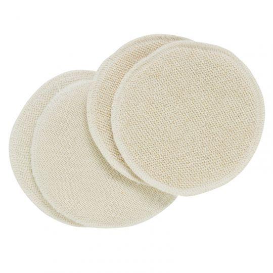 Ammeinnlegg med ett lag ull, ett silke (13 cm i diameter)