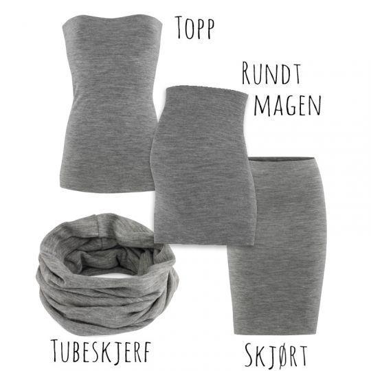 Multitube - flerbruksplagg - Gråstein