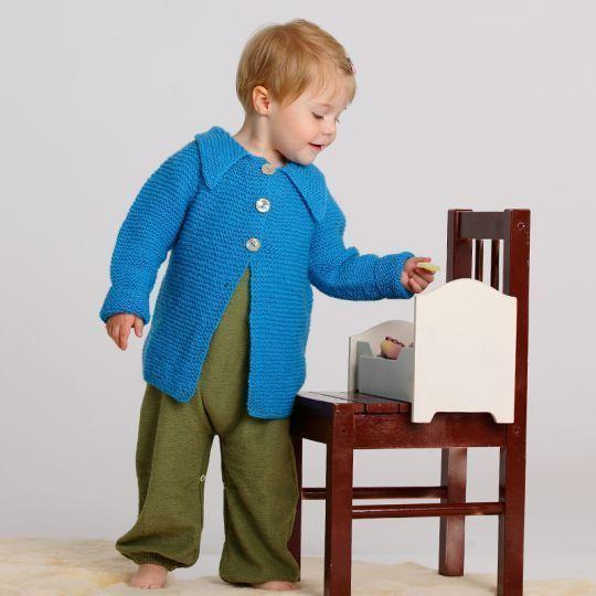 >Oppskrift- jakke med rundfelling