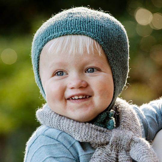 Oppskrift Barnehagelue og votter 6 mnd - 4 år