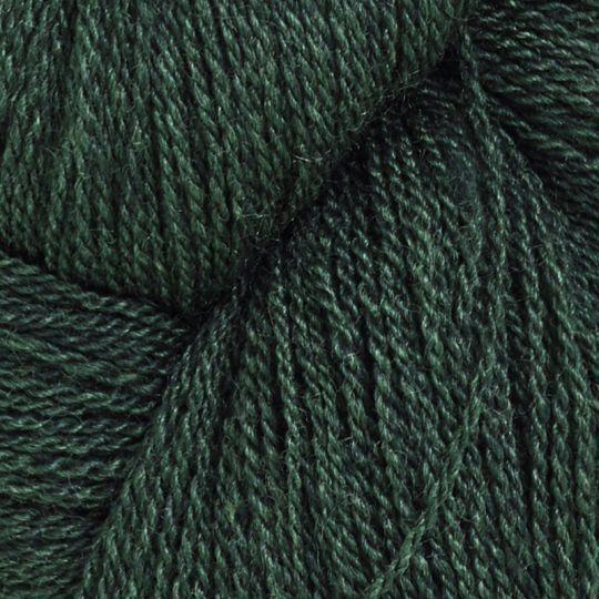 Silkeull 65% merino 35%silke 100g Mørkgrønn