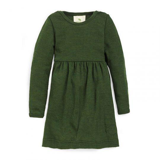 Ullkjole baby - Skoggrønn