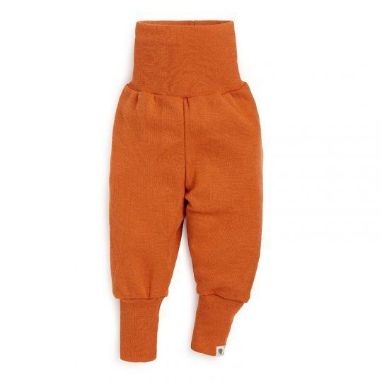 Babybukse i ull med silke - Mandarin