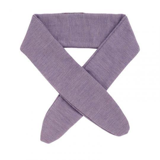 Tørkle/Bånd i ull Lavendel