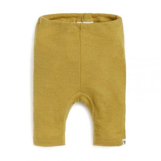 Boxer barn, i ull med silke - Sennep