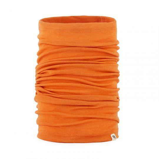 Tubehals i ull med silke - Mandarin
