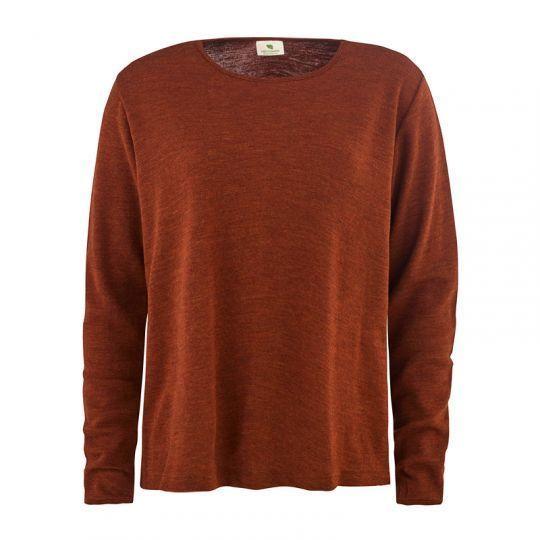Løs genser i ull - Cayenne