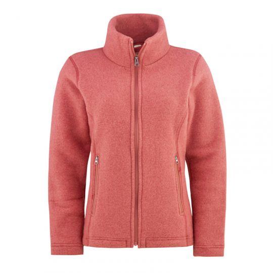 Fasongsydd jakke i ullfleece - Rustrosa