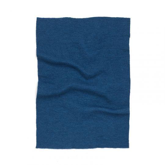 Knelapp til lapping av ulltøy Marineblå