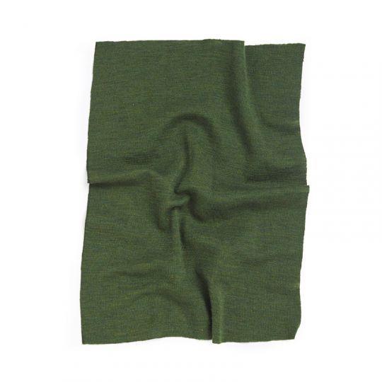 Knelapp til lapping av ulltøy Skoggrønn