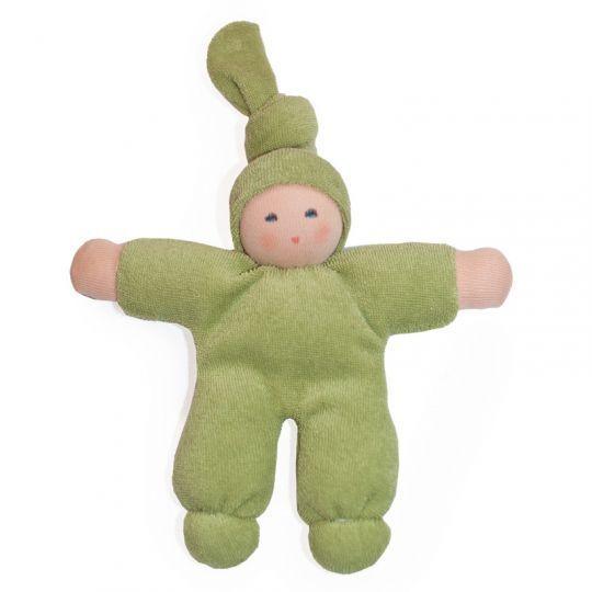 Alve-dukke bomullsfrotté - Grønn