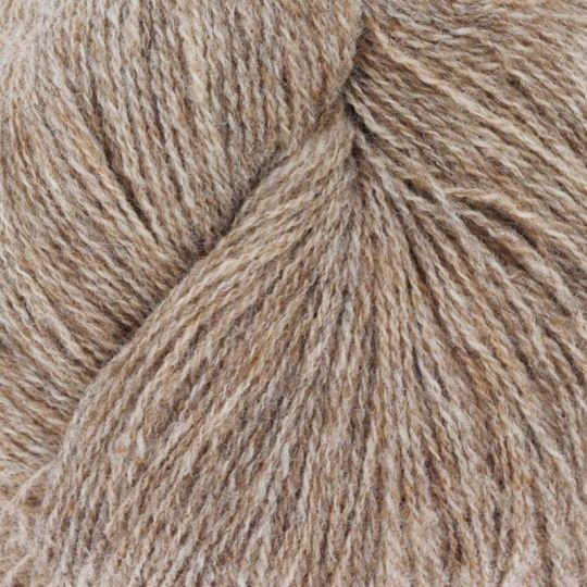 Nøstebarns merinoull 100g LysNaturbrun