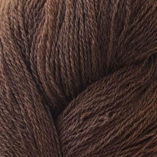 Nøstebarns merinoull 100g Nøttebrun