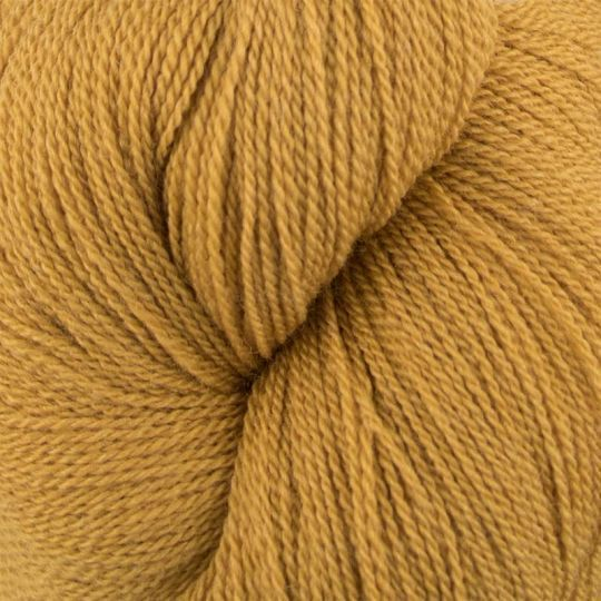 Silkeull 65% merino 35%silke 100g Høstgul