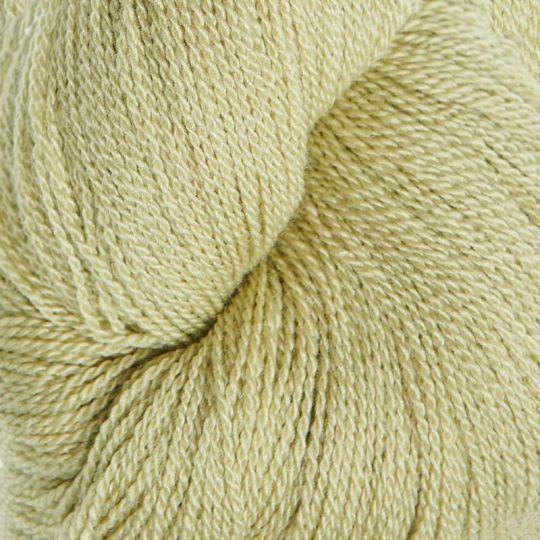 Silkeull 65% merino 35%silke 100g Lindegrønn