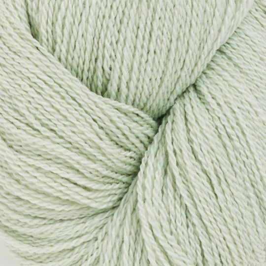 Silkeull 65% merino 35%silke 100g Lys Mint