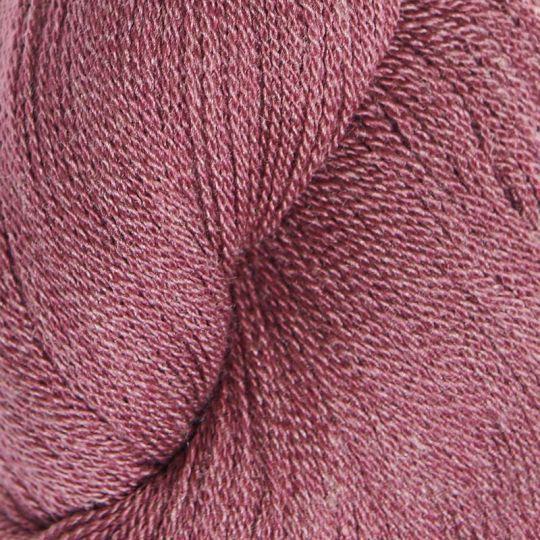 Silkeull 65% merino 35%silke 100g Skogsbær