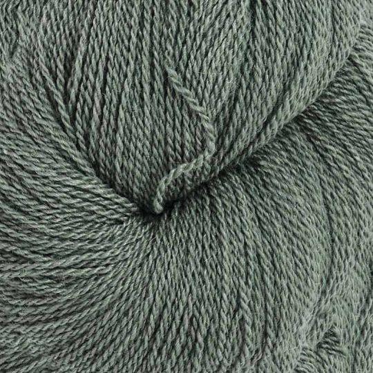 Silkeull 65% merino 35%silke 100g Sølvgran