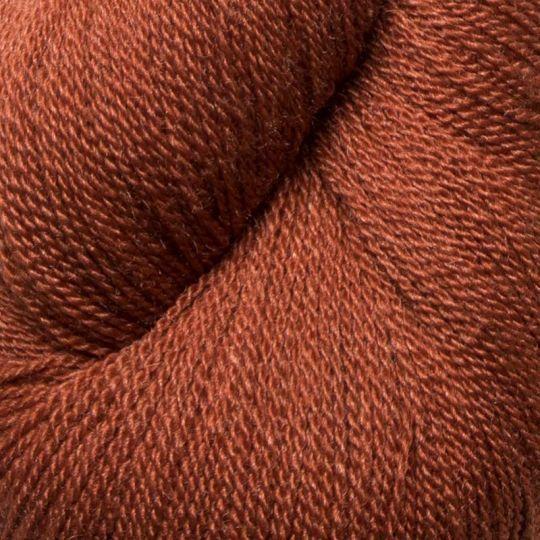 Silkeull 65% merino 35%silke 100g Terracotta