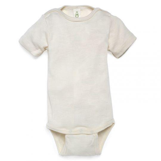 Body i ull med silke til større barn. - Natur