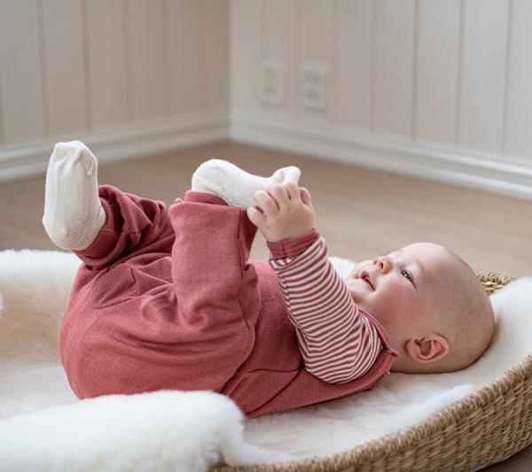 Ull, bomull eller bambus til babyen?