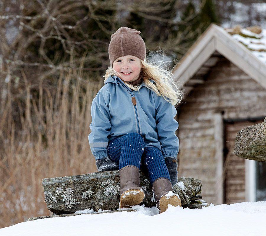 Hvordan kle på barnet om vinteren?