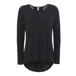 svart tynn v genser dame